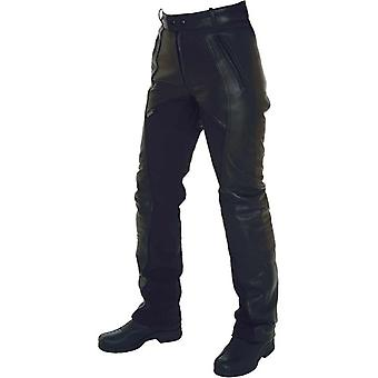 Richa Black Freedom Short X Womens Motorcycle Leather Pants