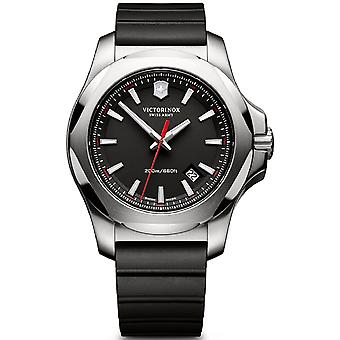 Victorinox Stainless Stainless Watch for Analog Man Quartz With Rubber Bracelet V241682.1