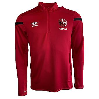 2019-2020 Nurnberg Umbro Half Zip Training Top (Red)