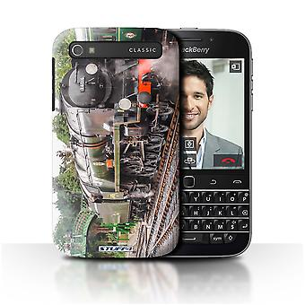 STUFF4 Case/Cover for Blackberry Classic/Q20/Bodmin/Steam Locomotive
