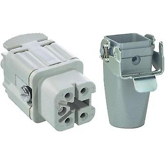 LappKabel EPIC® KIT H-A 4 BS MTGVB M20 <b>Rectangular plug-Kit</b> · Socket insert · Coupling casing straight · Case Zi