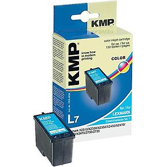 KMP Ink replaced Lexmark 1 Compatible Cyan, Magen