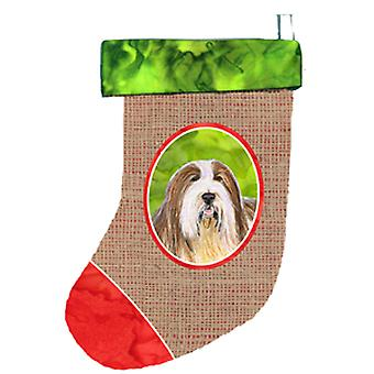 Bearded Collie Christmas Stocking SS2001