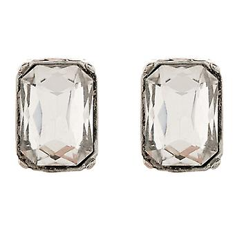 Martine Wester Moonlight Crystal Square Earrings