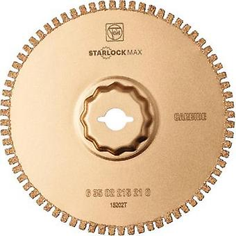 Carbide metal Semi circle blade 1.2 mm 105 mm Fein 63502215210 Compatible with (multitool brand) Fein, Bosch SuperCut