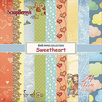 ScrapBerry's Sweetheart Paper Pack 6