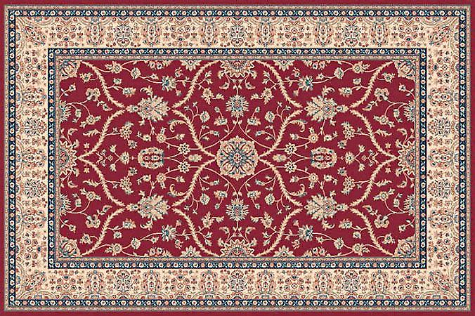Farsistan Russet 5604-675 Ivory ground with russet border Rectangle Rugs Traditional Rugs