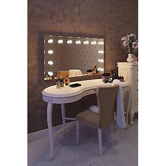 Hollywood Makeup Dressing Room Mirror with LED lamps k91CW