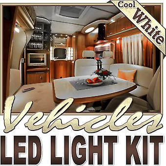 Biltek 6' ft Cool White Boat Yacht Cabin Bath LED Backlight Night Light Dimmable Remote Control Kit - Motorhome Boat Cabin Yacht Lighting, Compartment Lighting, Interior Waterproof DIY 110V-220V