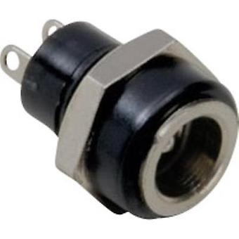 Low power connector Socket, vertical vertical 5.7 mm 2.1 mm