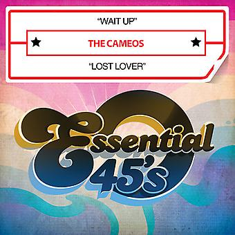 Cameos - Wait Up / Lost Lover USA import