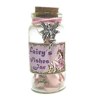 Fairy Wishes Jar With Fairy Trinket