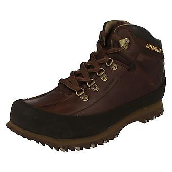 Mens Caterpillar Leather Ankle Boots Restore