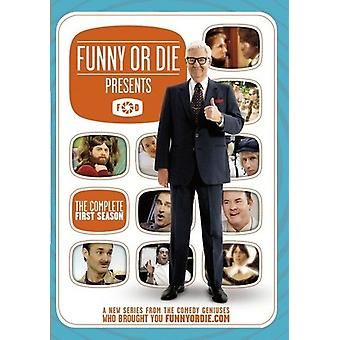 Funny or Die Presents: Season 1 [DVD] USA import