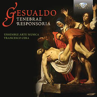 Gesualdo - Tenebrae Responsoria [CD] USA import
