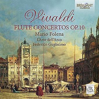 Folena, Mario / L'Arte Dell'Arco / Guglielmo, Federico - Vivaldi: Flute Concertos Op.10 [CD] USA import