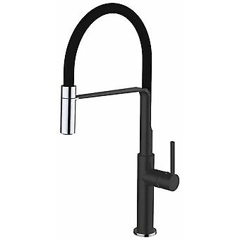 Clever Single lever mixer tap Chrome Black Chef Slim (Taps and Sinks , Taps)
