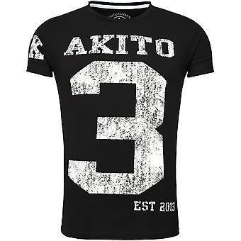 Akito Tanaka T-Shirt NUMBER black/white