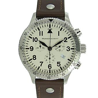 Aristo Messerschmitt mænds ur chronograph Aviator watch ME-5030 BEIGE
