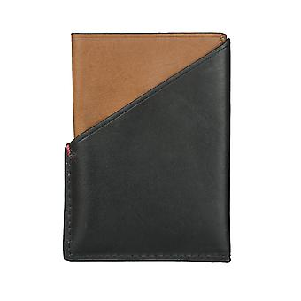 FOSSILA mäns kreditkort innehavaren kortinnehavaren leather case Black 4248