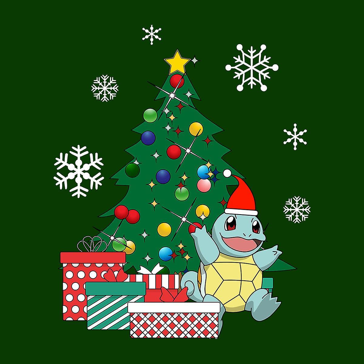 pokemon schiggy weihnachtsbaum kinder sweatshirt fruugo. Black Bedroom Furniture Sets. Home Design Ideas