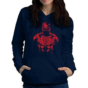 Daredevil The Man Without Fear Women's Hooded Sweatshirt