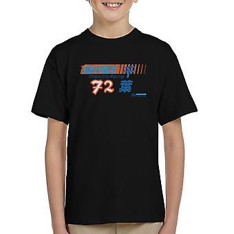 Haynes merk Chiba City Racing 72 verdrietig Kid's T-Shirt