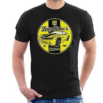 Camiseta abejorros Customes transformadores hombres