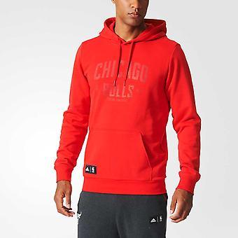 ADIDAS chicago bulls NBA basketball WSHD hoodie [red]
