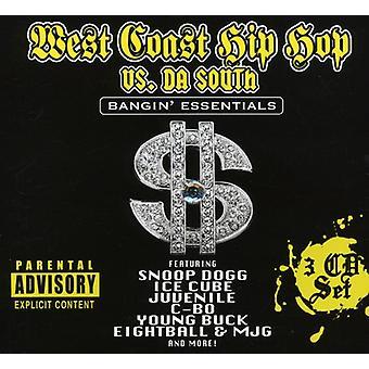 West Coast Hip Hop vs. Da South - West Coast Hip Hop vs. Da South [CD] USA import