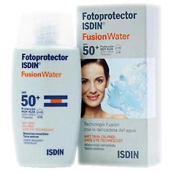 Isdin Photoprotector 50 + Fusion Fluid Water Sunscreen 50 ml