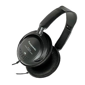 Panasonic Monitor Headphones with In-Line Volume Control - Black (RPHT225)