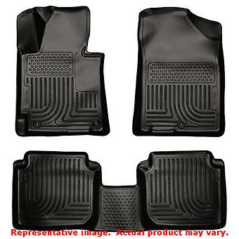 Husky Liners 98891 Black WeatherBeater Front & 2nd Seat FITS:HYUNDAI 2011 - 201