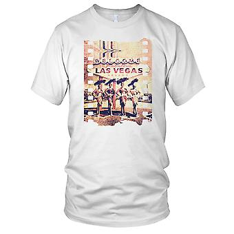 Fabelhafte Vegas - Welcome To Las Vegas - DJ Ibiza Beachparty Kinder-T-Shirt