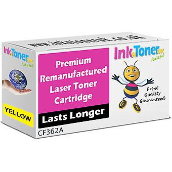 Remanufactured 508A Yellow CF362A Cartridge for HP LaserJet M577cm