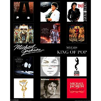 Michael Jackson - Albums Poster Poster Print
