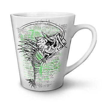 Fishing Cool Dead Fantasy NEW White Tea Coffee Ceramic Latte Mug 17 oz | Wellcoda