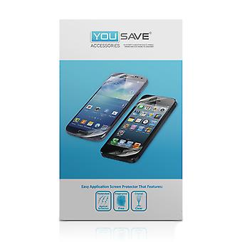 Yousave Huawei Ascend Y300 Screen Protectors - 5 Pack