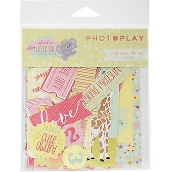 About A Little Girl Ephemera Cardstock Die-Cuts-  ALG2468