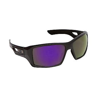 Eyepatch 2 Replacement Lenses Polarized Grey & Purple by SEEK fits OAKLEY