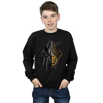 Marvel Boys Black Panther Vs Killmonger Sweatshirt