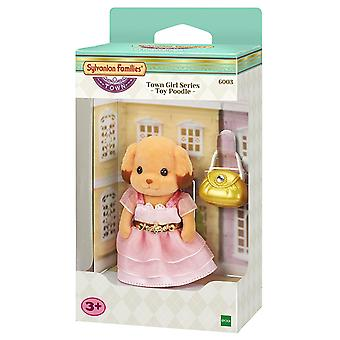 Sylvanian familias ciudad hermana serie - Caniche Toy