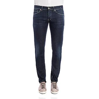 Dondup mens UP232DS050UP07G800 Blau bomull jeans