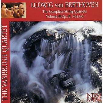 Larsen Beethoven - Beethoven: Komplet Strygekvartetter Vol. 2 [CD] USA import