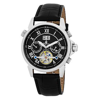Burgmeister BM118-122 California, Gents automatic watch, Analogue display - Water resistant, Stylish leather strap, Classic men's watch