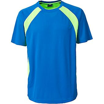 Trespass Mens Devan Active Short Sleeve Wicking Running T Shirt