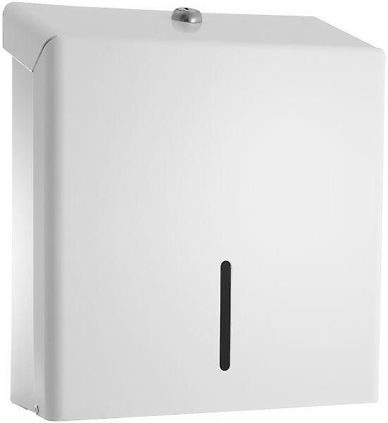 Pro Range Multifold Paper Towel Dispenser; White Metal