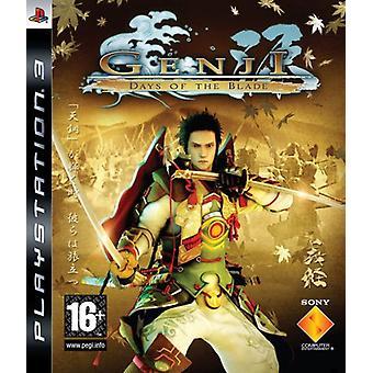 Genji dagen van het mes (PS3)
