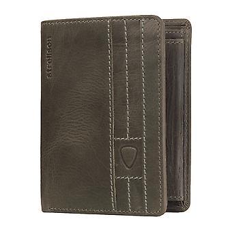 Strellson mens wallet portefeuille portefeuille gris foncé 3641