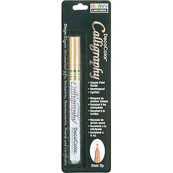 Deco Color Calligraphy Opaque Paint Marker 2mm-Gold